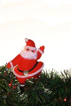 Free Vintage Santa Vertical Stock Photo - 7053350