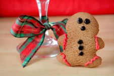 Free Gingerbread Man 2 Stock Photos - 7054043