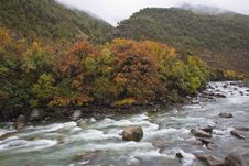 Free River In The Mountains Royalty Free Stock Photos - 7054178