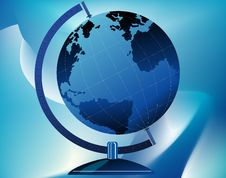 Free Globe On Stand Stock Photography - 7054622