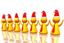 Free Business Santa Army Stock Images - 7055564