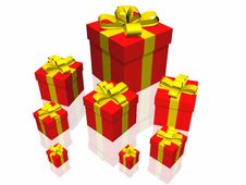 Free Gifts Box Stock Photography - 7055582