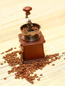 Free Coffee Grains Stock Photography - 7055912