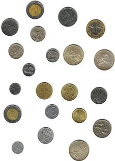 Free Italian Coins Stock Photo - 7056230
