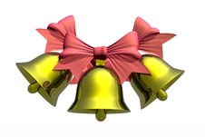 Free Christmas Bells Stock Image - 7056261