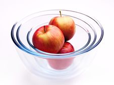 Free Apples And Glass Stock Photos - 7056583