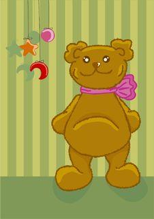 Free Cute  Teddy Bear Stock Photos - 7057043