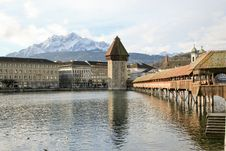 Lucern, Switzerland Royalty Free Stock Photo