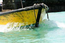 Free Yellow Boat Royalty Free Stock Photo - 7057325