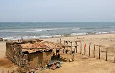 Free Seaside Shanty Royalty Free Stock Image - 7057356