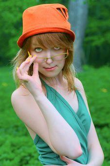 Free Lovely Girl In Glasses Stock Photos - 7057843