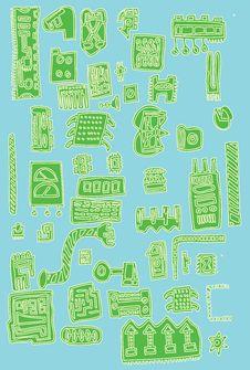 Free Green Computer Parts Royalty Free Stock Photos - 7057938