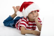 Free Santa S Elve Wishing For Gifts Stock Image - 7058531