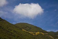 Cloud Over Mountain Stock Photos