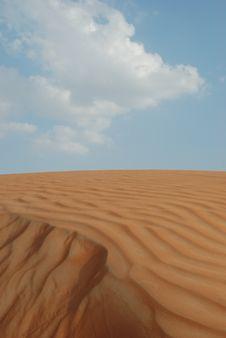 Free Desert And Sky Royalty Free Stock Photos - 7058668