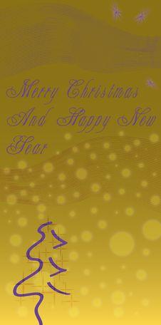 Free Abstract Christmas Theme Stock Photo - 7058870