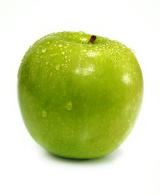 Free One Green Apple Royalty Free Stock Image - 7058936