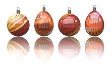 Free Christmas Balls Royalty Free Stock Photos - 7058998