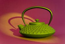 Free Teapot Close-up Royalty Free Stock Photo - 7059055