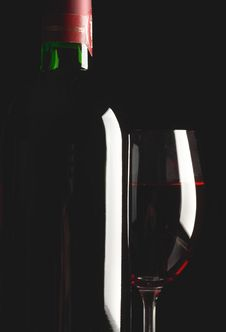 Free Glass And Bottle Royalty Free Stock Photo - 7059065