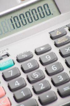 Free Calculator Royalty Free Stock Photo - 7059115