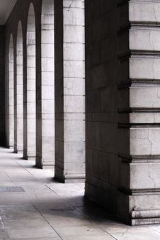 Free Stone Pillars Stock Photography - 7059142