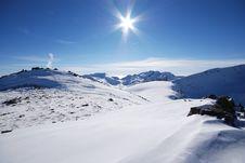 Free Winter Mountains Stock Photo - 7059320