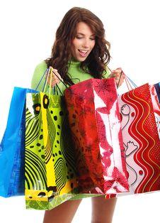 Free Shopping Sexy Woman Stock Photo - 7059400