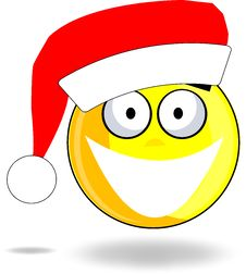 Happy Smiley Christmas Royalty Free Stock Photography