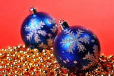 Free Christmas Ball Stock Photography - 7059592