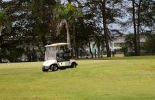 Free Golf Cart Stock Image - 7059871