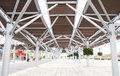 Free Roof Structure Of The Station Stock Image - 7066971