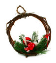 Free Christmas Garland And Beads Royalty Free Stock Photos - 7067118