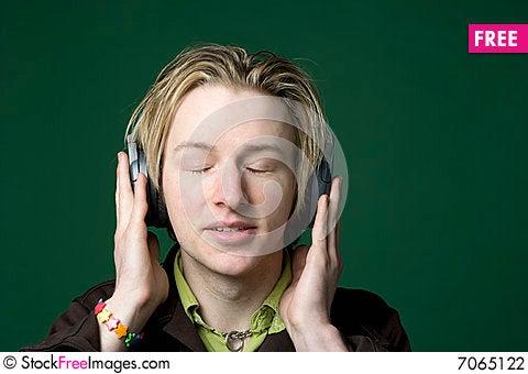 Free Enjoying Music Stock Photography - 7065122