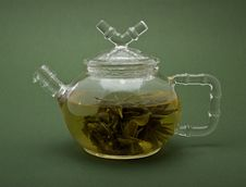 Free Teapot With Tea Royalty Free Stock Images - 7060199