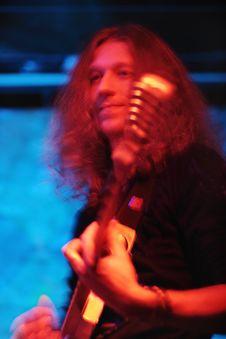 Free Guitarist Royalty Free Stock Photos - 7060818