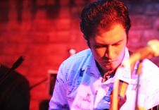Free Guitarist Royalty Free Stock Image - 7060836