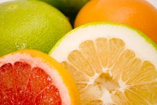 Free Grapefruits Royalty Free Stock Photo - 7060905