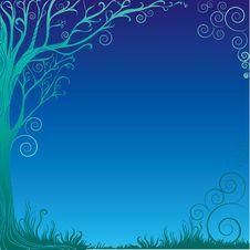 Free Background With Decorative Tree Stock Photos - 7061333