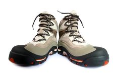 Free Winter Hiking Boots Royalty Free Stock Image - 7061516
