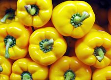 Free Yellow Peppers Royalty Free Stock Photos - 7062048