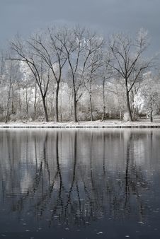 Free Infrared Lake Stock Image - 7062381