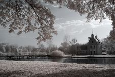Free Duotone Infrared Lake Stock Photography - 7062672