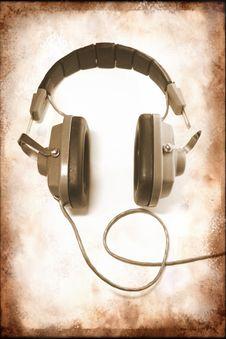 Free Retro Headphones Royalty Free Stock Photography - 7062937