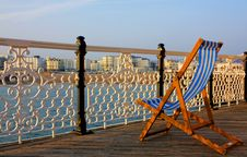 Free Deck Chair Stock Image - 7063771