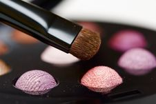 Free Eyeshadow Close Up Royalty Free Stock Photography - 7063967