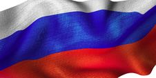Free Russian Flag Royalty Free Stock Photography - 7063997