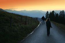 Free Mountain Road Stock Image - 7064451