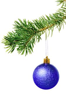 Free New Year. Christmas. Tree Decoration. Stock Photo - 7064750