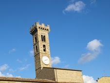 Free Bell Tower In Fiesole Royalty Free Stock Photos - 7064918
